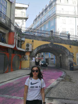 """Rua Nova do Carvalho, """"Pink street"""""""